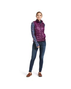 Ariat Womens Ideal 3.0 Down Vest - Imperial Violet