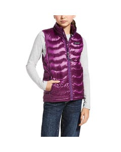 Ariat Girls Ideal 3.0 Down Vest - Imperial Violet