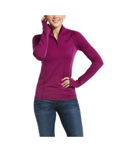 Ariat Womens Lowell 2.0 1/4 Zip - Imperial Violet