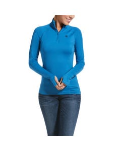 Ariat Womens Lowell 2.0 1/4 Zip - Blue Dawn