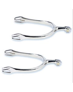 Stubben Dynamic Dressage Spurs with Rowel - 1171