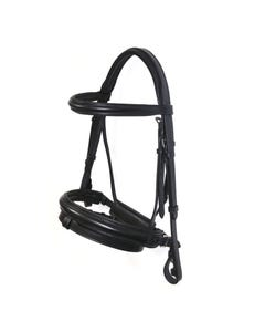 Ascot Padded Dressage Bridle