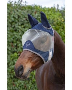 Le Mieux Armour Shield Protector Fly Mask Half with Ears