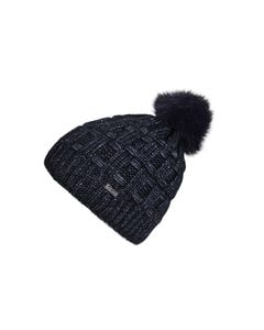 Pikeur Prime Collection Bobble Hat - Dark Navy