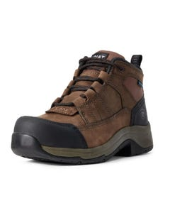 Ariat Womens Telluride Work H20 CT - Distressed Brown