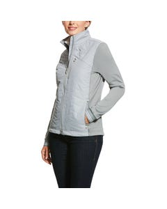 Ariat Womens Insulated Hybrid Jacket - Grey