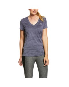 Ariat Womens Laguna Top - Greystone Heather
