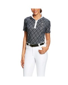 Ariat Womens Showstopper 2.0 Show Shirt - Darkest Saphire