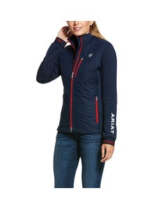 Ariat Womens Insulated Hybrid Jacket - Team