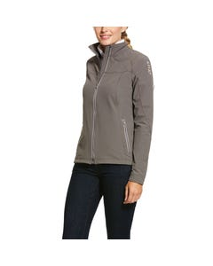 Ariat Womens Agile 2.0 Softshell Jacket - Plum Grey