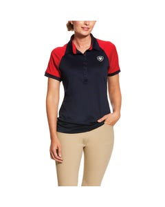 Ariat Womens Team 3.0 Polo - Navy