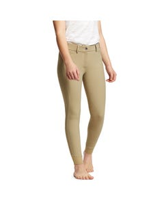 Ariat Youth Tri Factor Grip Knee Patch Breech - Tan