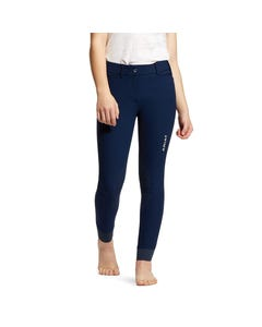 Ariat Youth Tri Factor Grip Knee Patch Breech - Navy
