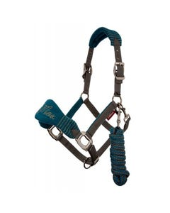 Le Mieux Vogue Fleece Headcollar & Rope Set