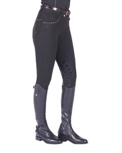 Just Togs Glitz Breech in Black