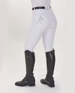 Just Togs Glitz Breech - White