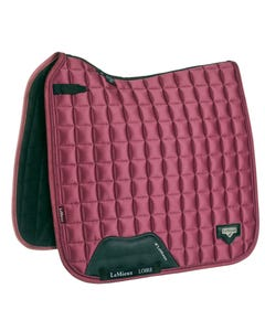 Le Mieux Loire Classic Satin Dressage Square - French Rose