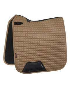 Le Mieux Suede Dressage Square Small/Medium - Champagne