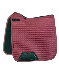 Le Mieux Suede Dressage Square Small/Medium - French Rose