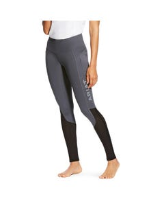 Ariat EOS Riding Tights with Knee Patch Grey