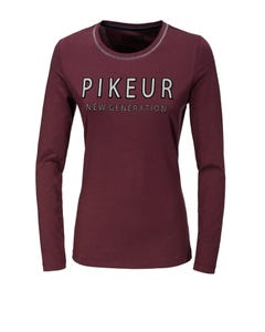 Pikeur Isy New Generation Long Sleeve Top - Bordeaux