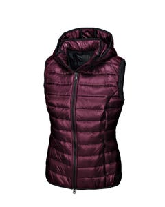 Pikeur Iva New Generation Quilted Waistcoat - Bordeaux