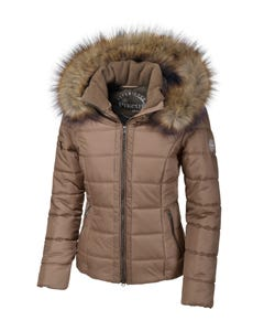 Pikeur Florentine Quilted Jacket - Bright Walnut
