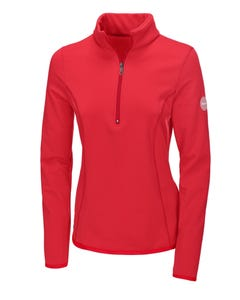 Pikeur Ines Polartec Functional Shirt - Bright Red
