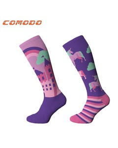Comodo Be Unique Knee Socks - 35 to 38