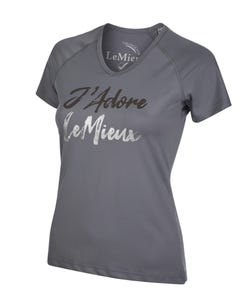 My Le Mieux J Adore T-Shirt - Grey