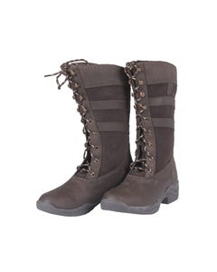 Just Togs Fairbrook Lace Boot - Brown