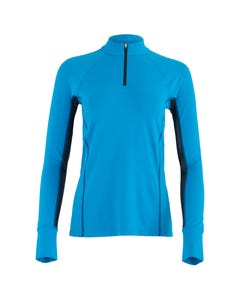 Ashley Performance Shirt Long Sleeve Blue