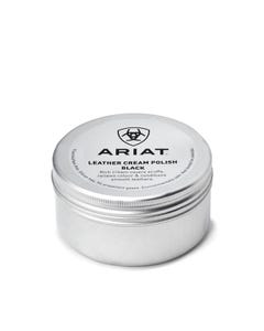 Ariat Leather cream polish black