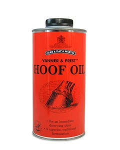 Carr, Day & Martin Vanner and Prest Hoof Oil