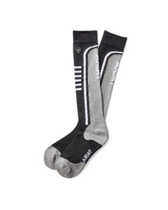 Ariat Slimline performance socks - black/sleet