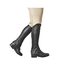 Dublin-Stretch-Fit-Half-Chaps-with-BlackPatent-Piping