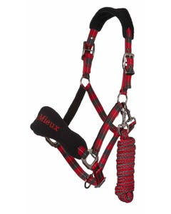 Le-Mieux-Signature-Headcollar--Rope-Set