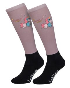 Le Mieux Adult Footsies - Rocking Unicorn