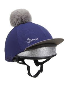 LeMieux Pom Pom Hat Silk - Ink Blue