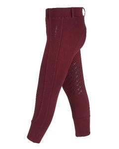 My LeMieux Junior Pro Breeches - Burgundy