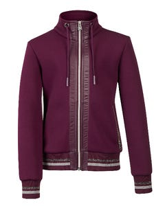 Youth Collection Luxe Jacket Grape