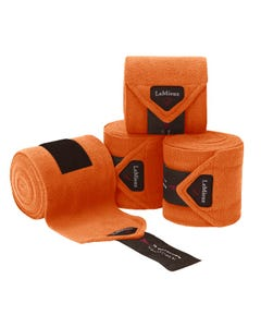 Le Mieux Fleece Polo Bandages - Paprika