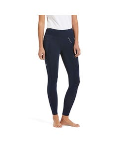 Ariat Womens Prevail Insulated Full Seat Tights - Navy