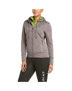 Ariat Women's Keats Full Zip Hoody Plum/Grey