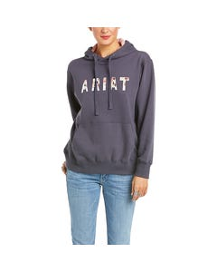 Ariat Real Floral Hoody - Periscope