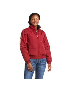 Ariat Womens Stable Insulated Jacket - Rhubarb/Cream